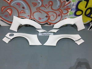 TOYOTA BRZ GT86 FRS wide arch kit front and rear arches fits toyota subaru