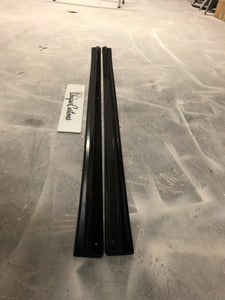Vw golf mk5 r32 side skirt extensions gti valance spoiler