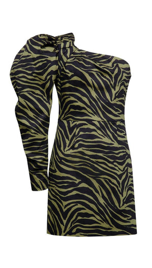 Zebra Baloony Dress Dresses
