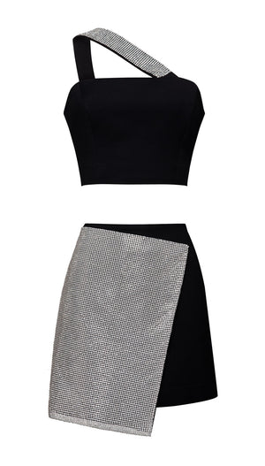 Shine bright top+ Shine bright skirt