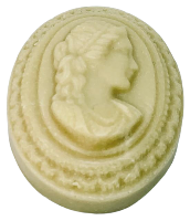 Danforth Manor Queen Victoria Cameo Goats Milk Soap