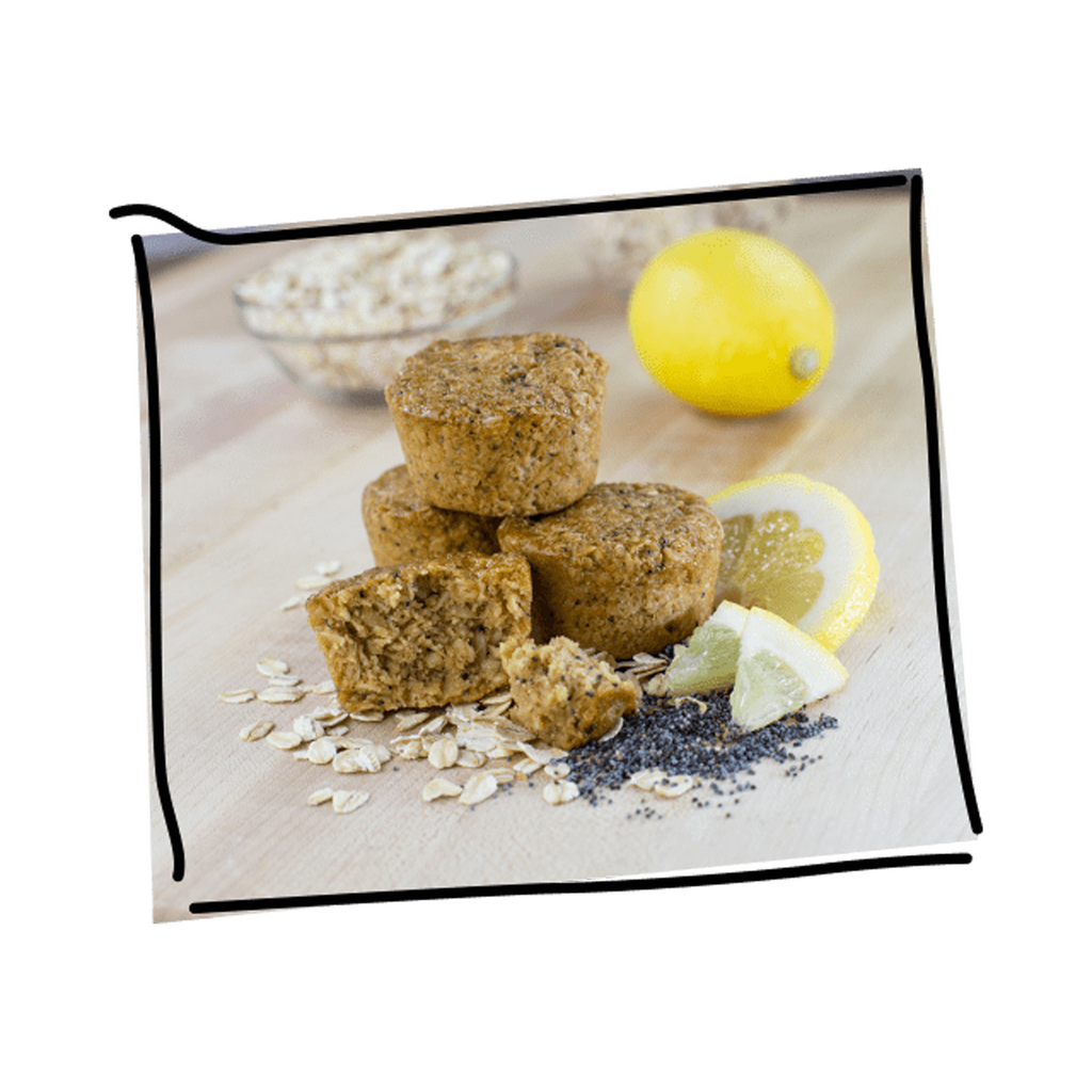 Bobo's - Bars & Bites - Lemon Poppyseed Oat Bites