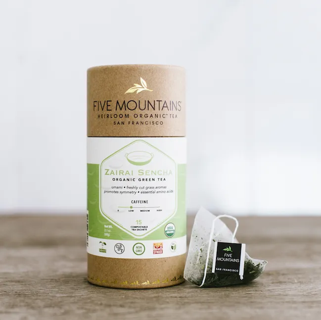 Five Mountains - Tea - Green Tea Teabag Sachet