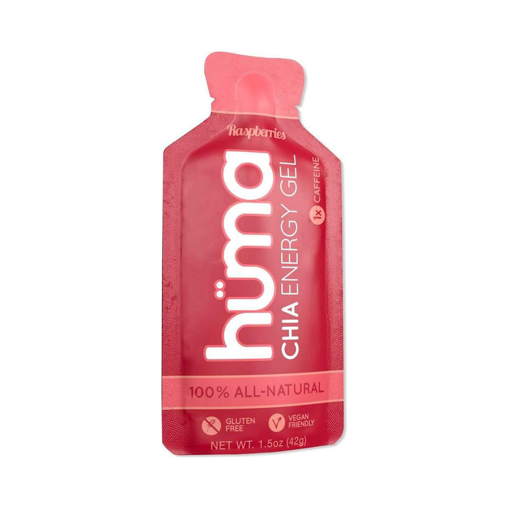 Huma - Energy - Raspberry (Caffeinated) Energy Gel