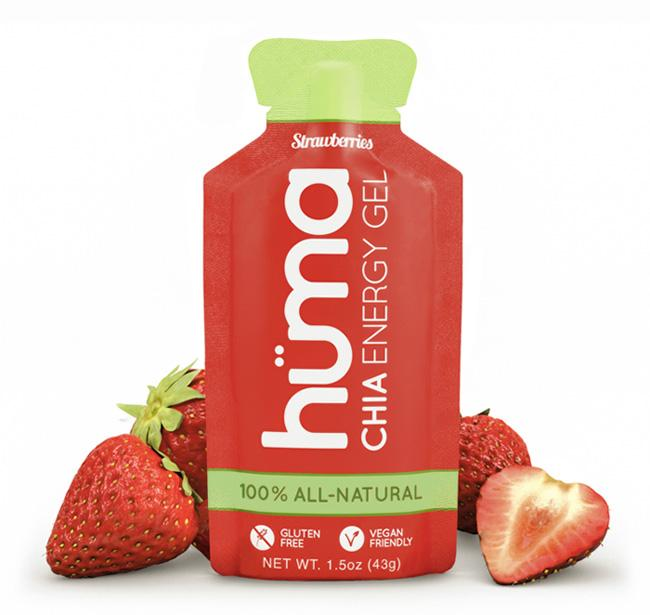 Huma - Energy - Strawberry Energy Gel