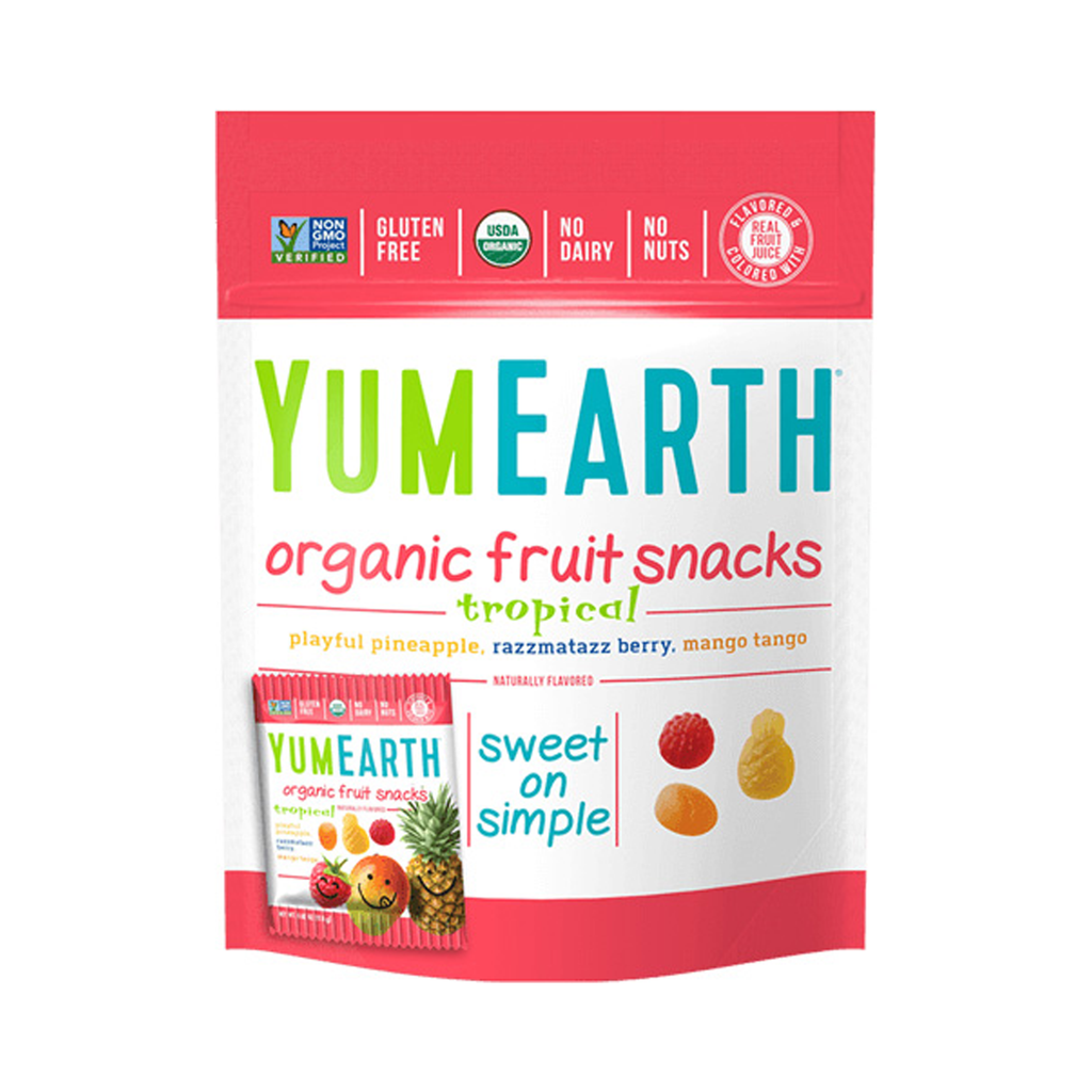 YumEarth - Chocolate & Candy - Tropical Fruit Snacks