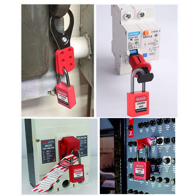 Lockout Tagout Kit - Miniature Circuit Breaker Lockout