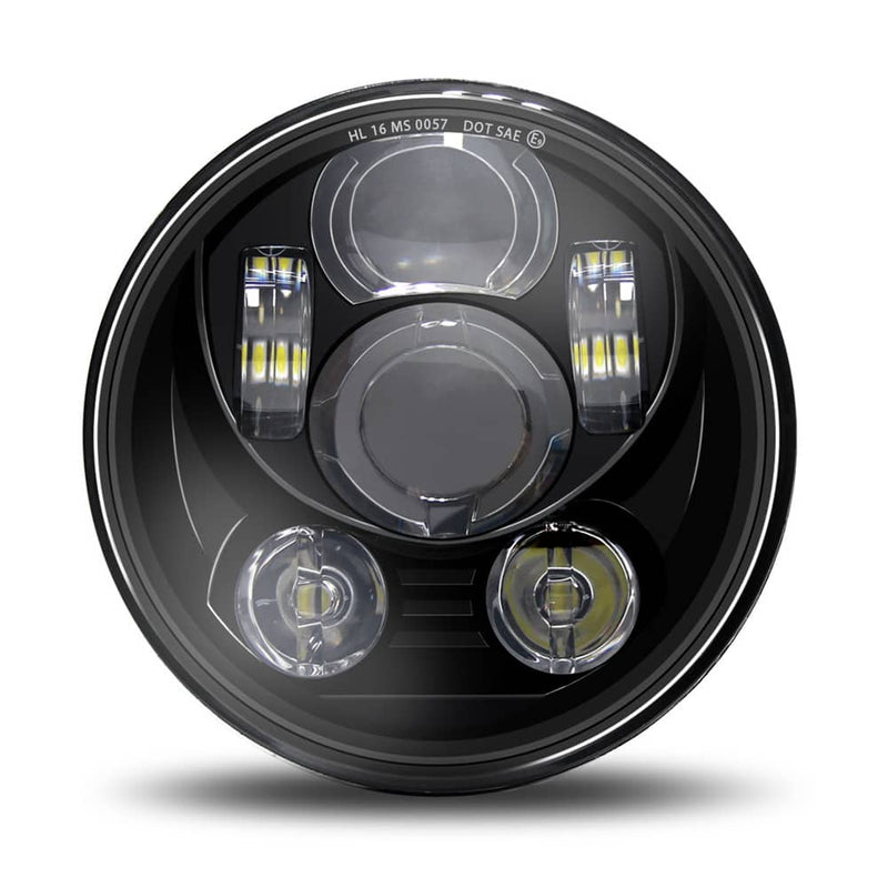 "5-3/4"" 5.75"" LED Headlight - Compatible with Harley Davidson Dyna Street Bob"