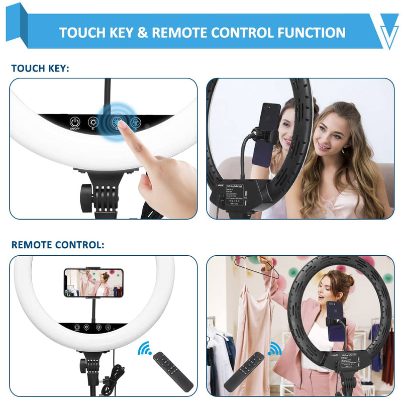 wisamic ring lamp touch key