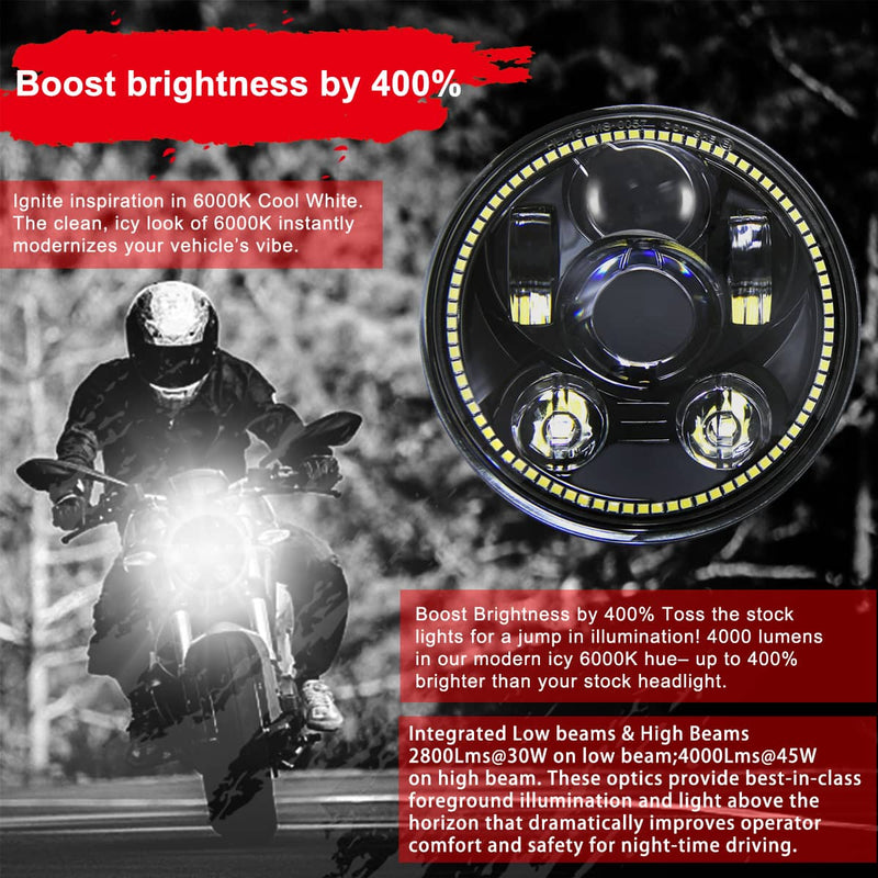 wisamic led headlight brightness