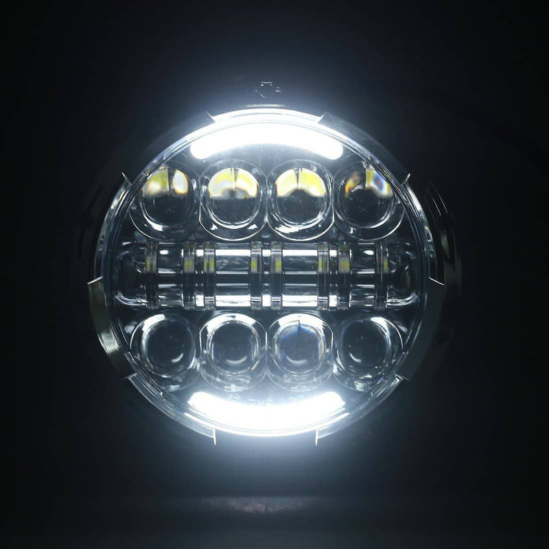 "wisamic 7"" led headlight"
