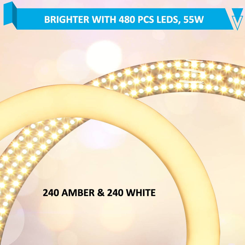 wisamic ring light LEDs