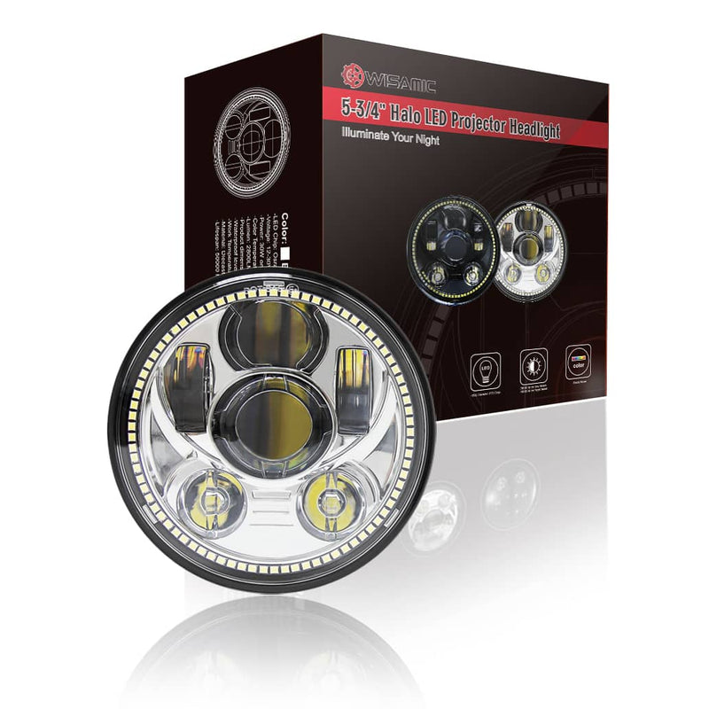 wisamic 5-3/4 led headlight package