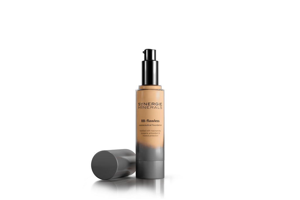 Synergie Minerals BB Flawless Liquid Mineral Foundation-Sun-MRS-RITCHIE.COM