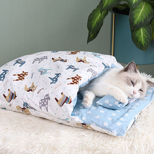 Cozy Kitty Cat Bed