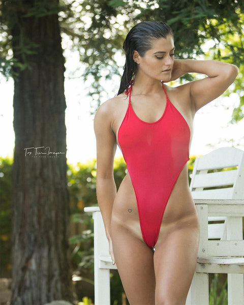 red baywath bodysuit