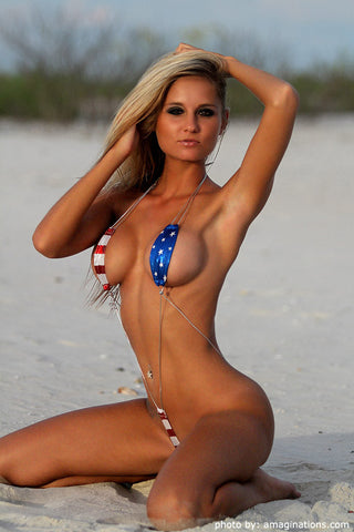 Stars and Stripes Monokini