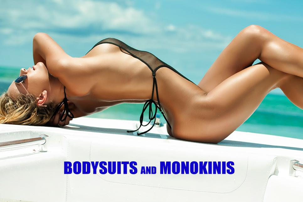 monokinis and bodysuits