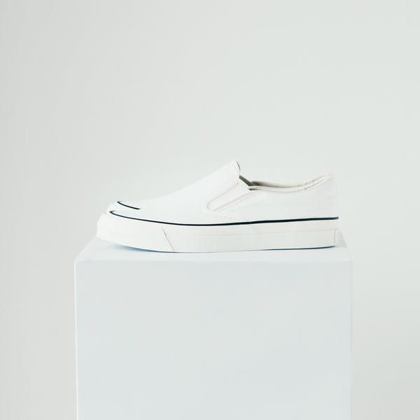 ASAHI DECK SLIP-ON - WHITE