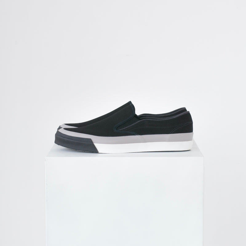 ASAHI DECK SLIP-ON MIXTURE - BLACK