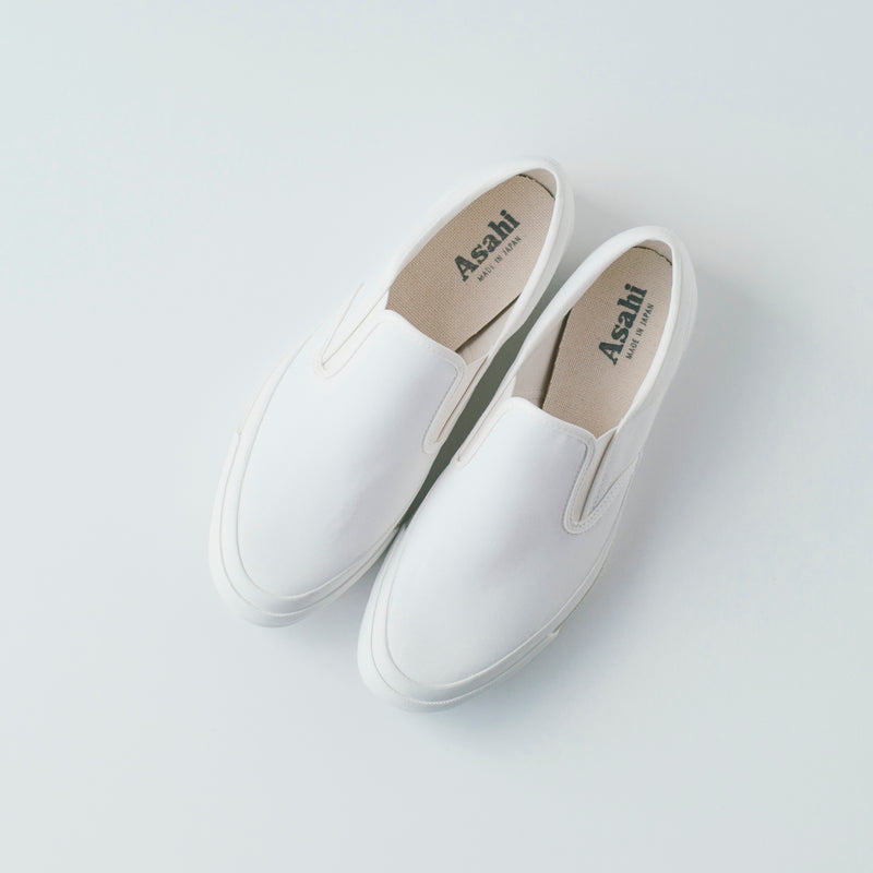 ASAHI DECK SLIP-ON VENTILE - WHITE