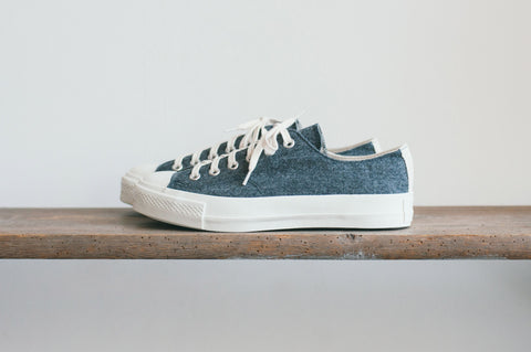 GYMNASIUM SHOES FLANNEL - GRAY