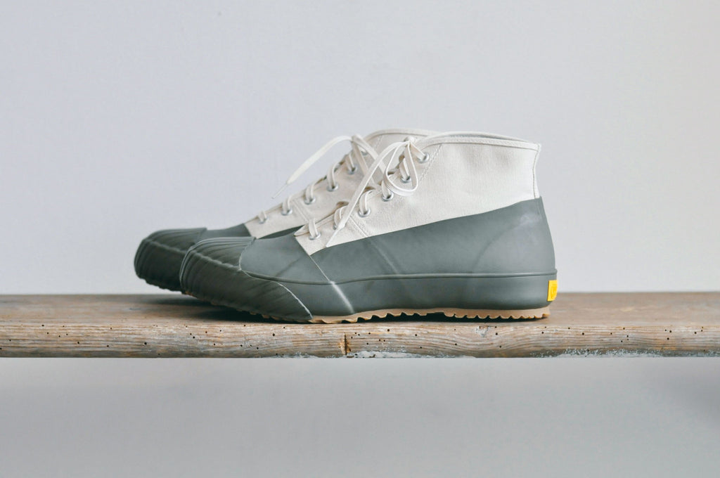 GS RAIN SHOES - WHITE / OLIVE
