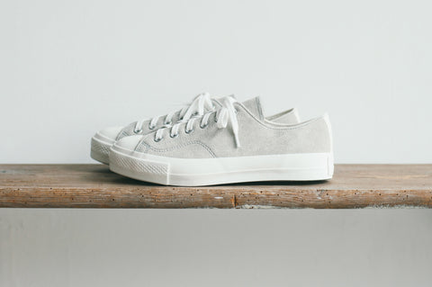 GYMNASIUM SHOES SUEDE - SAND GREY
