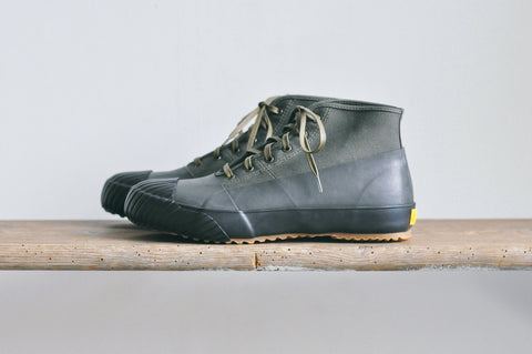GS RAIN SHOES - BLACK / OLIVE