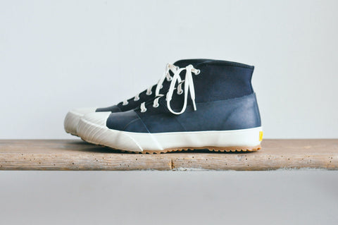 GS RAIN SHOES - NAVY / WHITE