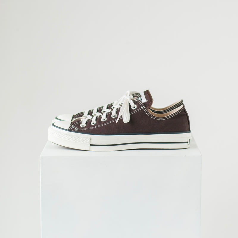CANVAS ALL STAR J OX - DARK BROWN