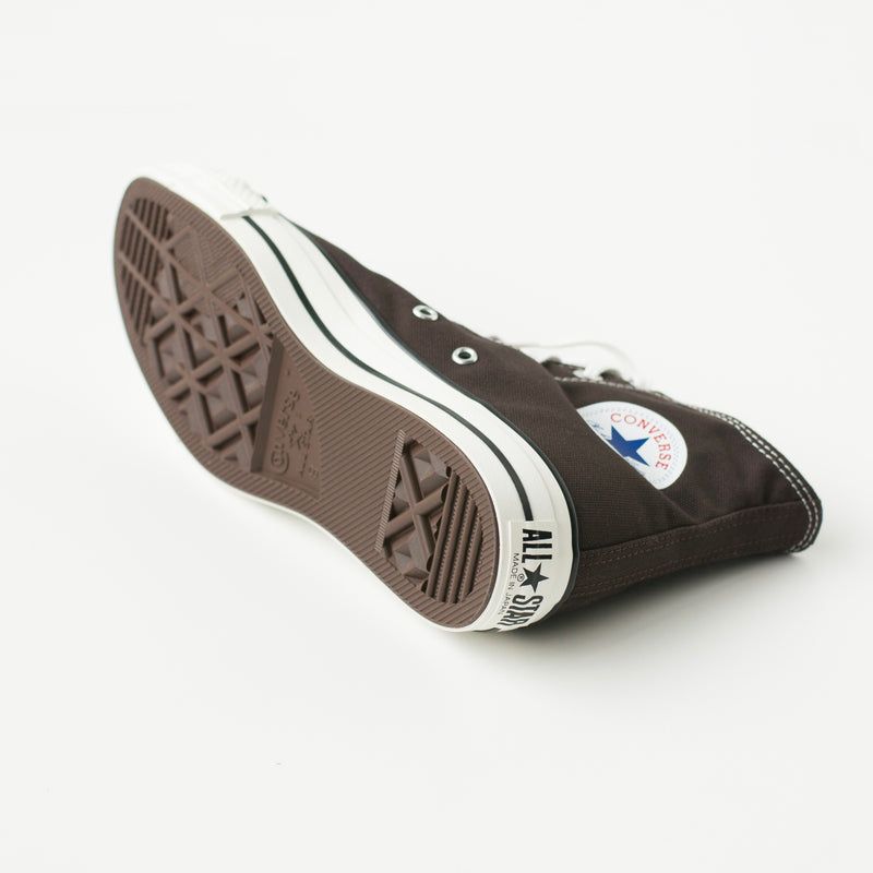 CANVAS ALL STAR J HI - DARK BROWN