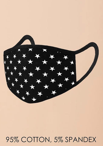 S&S Face Mask || Stars All Over