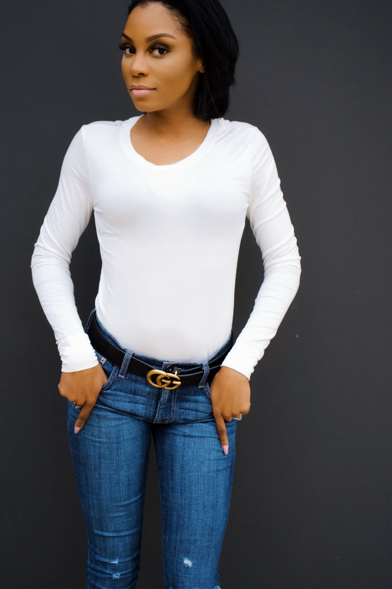 Back to the Basics Top -White