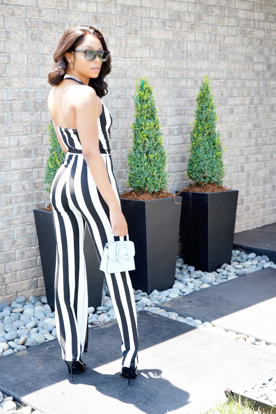 Stripe Me Down || Jumpsuit