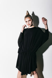 Intense drape dress
