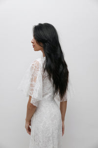 SOBJE local lace dress