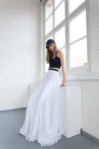 SOBJE Satin skirt