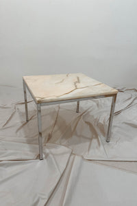 Heavy marble coffee table