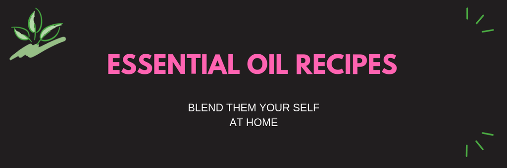DIY Essential Oil Blend Recipes ~ Part 1