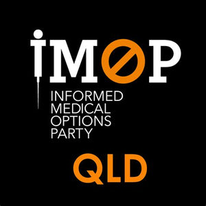 Toni runs for Townsville electorate for Informed Medical Options Party on the 31st  October