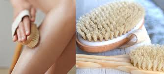 Dry Skin Brushing to reduce Cellulite