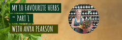 My 10 Favourite Herbs ~ part 1