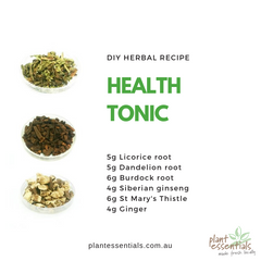 health tonic recipe