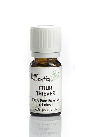 Plant Essentials four thieves essential oil blend contains organic clove essential oil