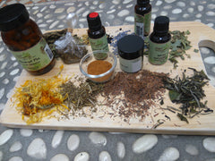 herbs and oils for making your own skincare course