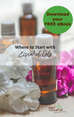 where to start with essential oils free ebook