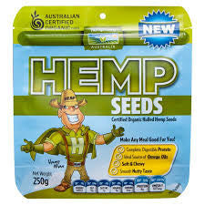 hemp seeds at Plant Essentials