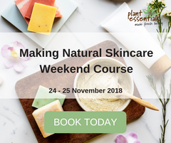 making natural skincare weekend course
