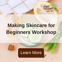 making skincare for beginners workshop